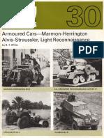 AFV Profile 030 - Armoured Cars - Marmon-Herrington, Alvis-Straussler, Light Reconnaissance