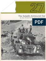 AFV Profile 027 - Saladin Armoured Car