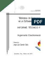 Biblioteca de Componentes en Un Sotfware Cad en 3d