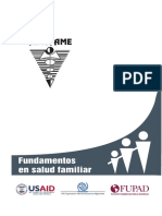 Fundamentos en Salud Familiar (ASCOFAME. 2008)