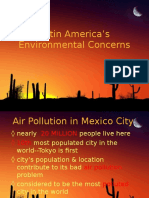 Latin America Environmental Powerpoint
