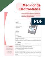 Medidor de Electrostática
