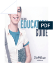 Education Guide, fall 2016