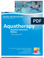 QLD Aquatherapy Info Kit