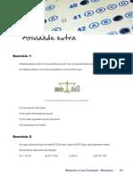 Ceja Matematica Unidade 3 Exercicios