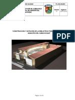 Pl-sgi-cb-001 Plan de Calidad Construccion Biblioteca Subachoque
