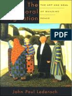 John Paul Lederach the Moral Imagination-Chapter 8