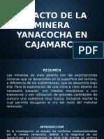 Impacto de La Minera Yanacocha en Cajamarca