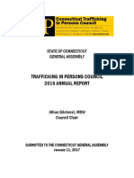Trafficking in Persons  Council_2016 Annual Report
