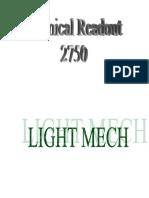 Technical Readout (TRO) 2750 [Fan Made]