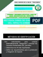 Clase 11. Metodologias de Evaluacion Del Impacto Ambiental