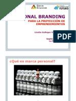 Módulo 2 - PLEI 2016 Personal Branding