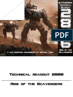 Technical Readout (TRO) 2866 - Rise of the Scavengers [Fan Made]
