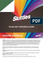 PLAN DE COMUNICACIÓN SKITTLES