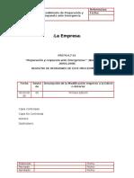 PAUTA PROCEDIMIENTODE PREPARACIÓN Y RESPUESTA ANTE EMERGENCIAS OHSAS 18001 RAFAEL GONZÁLEZ.docx