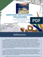 Reflexiones - Identidad Institucional.pptx