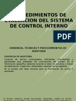 Evidencia Tecnica y Procedimientos de Auditoria