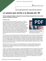 Página_12 __ El País __ Un Debate Que Remite a La Década Del '90