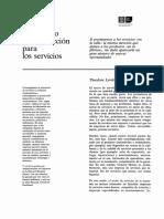 Enfoque de Proceso de Produccion Para Los Servicios - Ant p06-94
