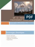 Economie Du Changement Climatique