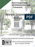 LEMIT - Materiales Componentes Del Hormigón 2010 (1)