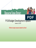 20170111 FY18 Budget Presentation - Board Approved