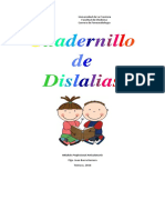 Cuadernillo Dislalias Modulo Articulatorio Parte 1