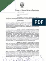 Resolución 206-2016-PCNM No Ratificacion Jefe de ONPE