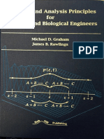 Modeling and Analysis of  Principles for Chemical and Biological Engineers