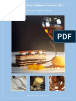 Int Patisserie Diploma 2017-18