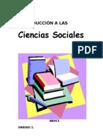 Intro. a Las Ciencia Sociales