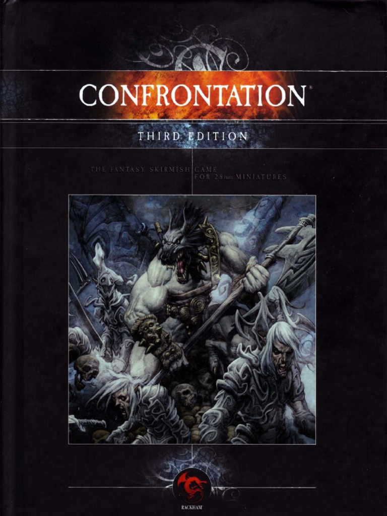 Rackham Confrontation Books Complete Rules Book Army Unit Books Lot Lahnars NEW