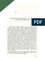 Seid Traljić, Tursko Mletačke Granice u Dalmaciji