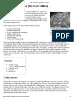 Traffic Engineering (Transportation) - Wikipedia