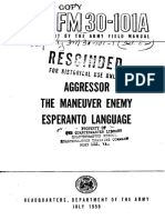 FM 30-101A - Esperanto the Aggressor Language
