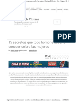 Http Culturacolectiva.com 15 Secretos Que Todo Hombre Deberia