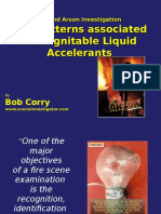 Accelerant Patterns for Arsonguide.com
