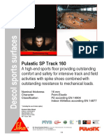 Pulastic SP Track 160 (Indoors - Multi Directional)
