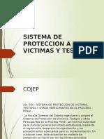 Sistema de Proteccion a Victimas y Testigos