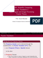lecture Fourier Transforms
