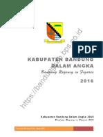 Kabupaten Bandung Dalam Angka 2016