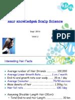 00_Hair 101_Science of Hair &Scalp_Sept 2014
