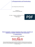 Taschenbuch Zur Photogrammetrie Und Fernerkundung: Guide for Photogrammetry and Remote Sensing_4
