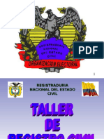 Talleres Registro Civil