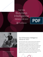 Business Intelligence Top Trends 2017