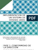 IMplementacion de Un Sistema de OHSHAS 18001