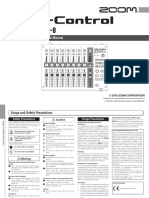 F-Control Operation Manual