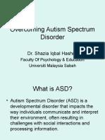 Autism Workshop