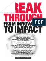 Breakthrough From Innovation to Impact 2016