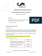 Instrucciones Pago Inscripcion v Coloquio Amest 2017